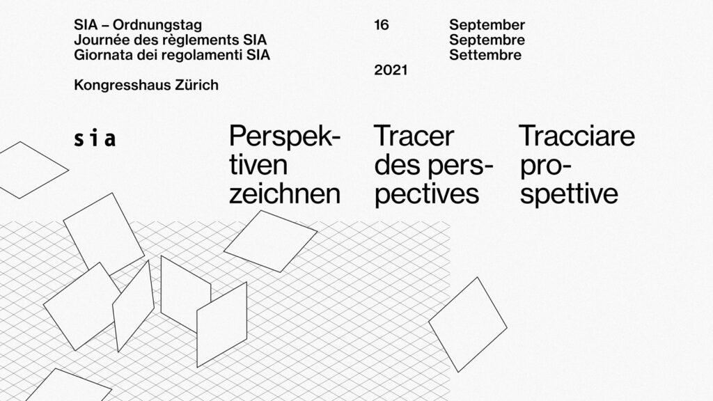 Erster SIA-Ordnungstag am 16. September 2021